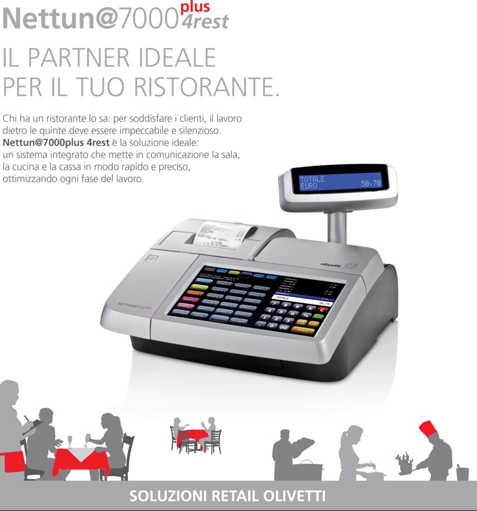 Olivetti Nettuna 7000 gestione ristoranti