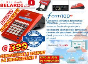 REGISTRATORE_DI CASSA_TELEMATICO_PROMOZIONE_RIMBORSO_OLIVETTI_FORM_100