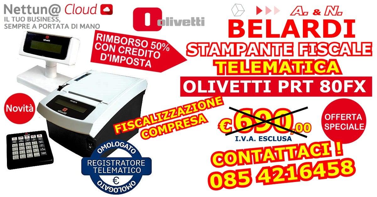 OFFERTA-STMAPANTE-FISCALE-TELEMATICA-OLIVETTI-PRT-80