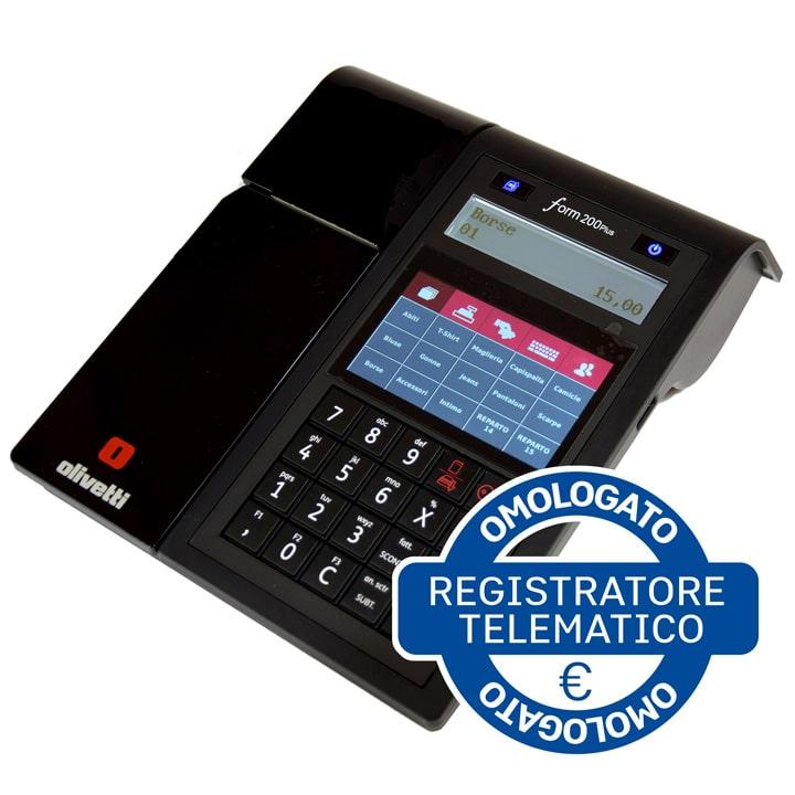 Registratore di cassa Telematico Olivetti form200plus