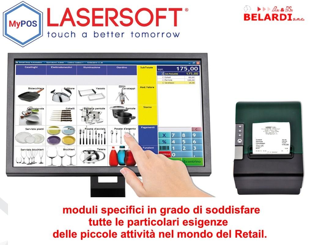 touchscreen mypos gestione negozio casalinghi