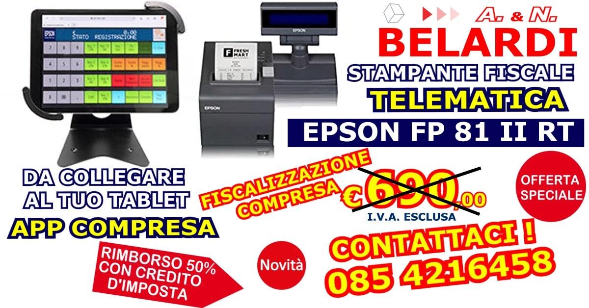 EPSON FP 81 II RT - TABLET 1